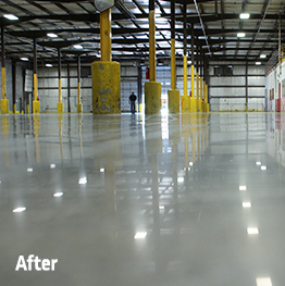 concrete floor maintenance