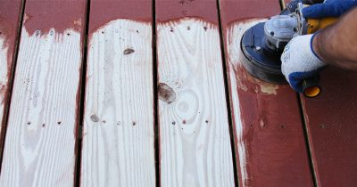 Diamabrush for Wood Decks and Siding