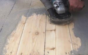diamabrush wood deck and siding tool