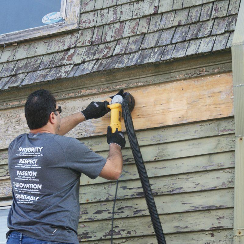 wood deck tool